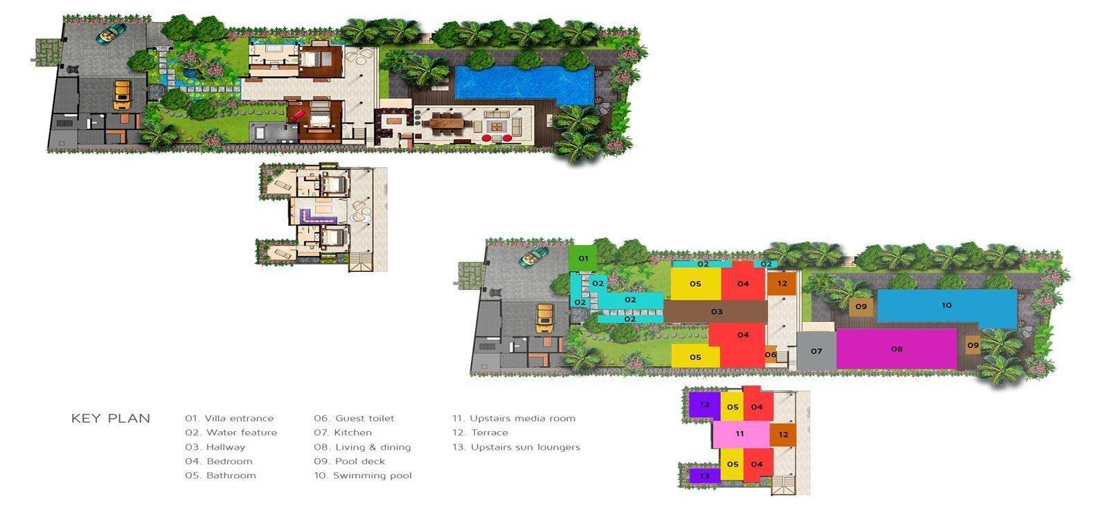 Villa Sally Floorplan | Canggu, Bali