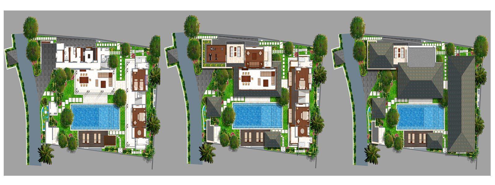 Villa Windu Sari Floorplan | Petitenget, Bali