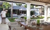 Villa Adasa Outdoor Dining Area | Seminyak, Bali