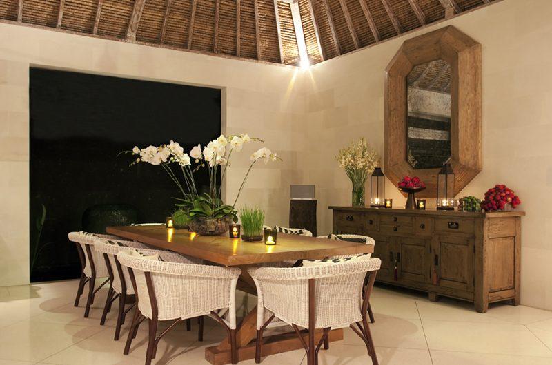 Villa Adasa Dining Area Night View | Seminyak, Bali