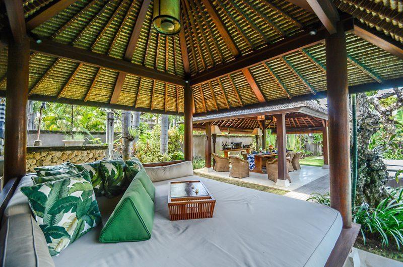 Villa Aliya Pool Side Seating Area | Seminyak, Bali