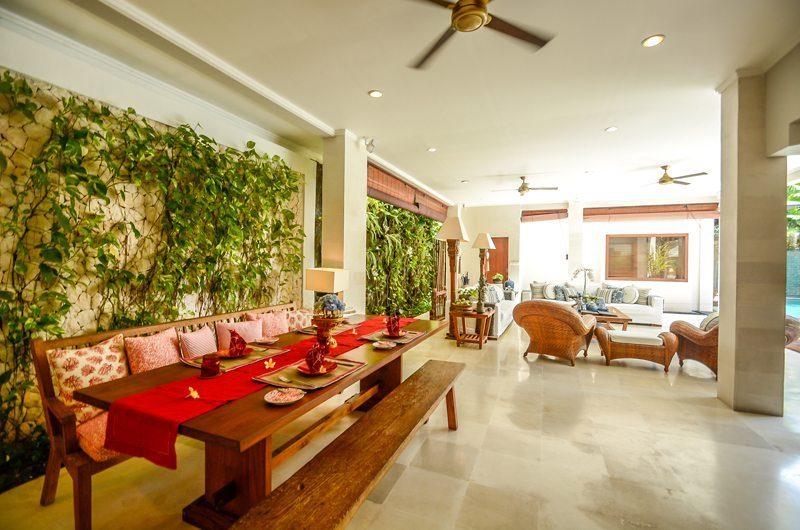 Villa Aliya Living And Dining Area | Seminyak, Bali