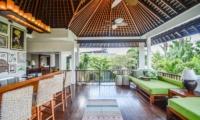 Villa Aliya Open Air Lounge With Tropical View | Seminyak, Bali