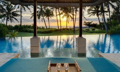 Villa Arika pool with Sunset Views | Canggu, Bali