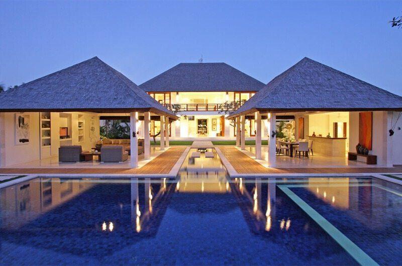 Villa Asante Outdoor Area Night View | Canggu, Bali