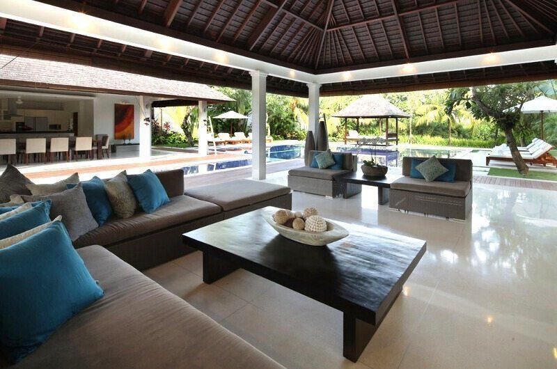 Villa Asante Outdoor Seating Area | Canggu, Bali