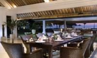 Villa Atas Ombak Dining Room | Batubelig, Bali