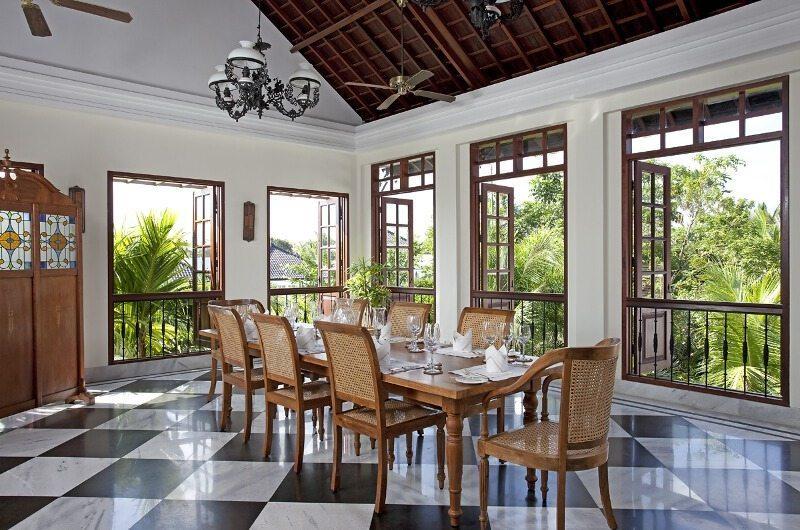 Villa Batavia Dining Area   Seminyak, Bali