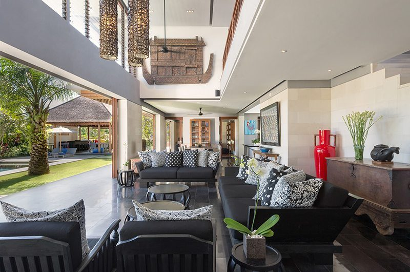 Villa Bendega Rato Open Fronted Living Area | Canggu, Bali