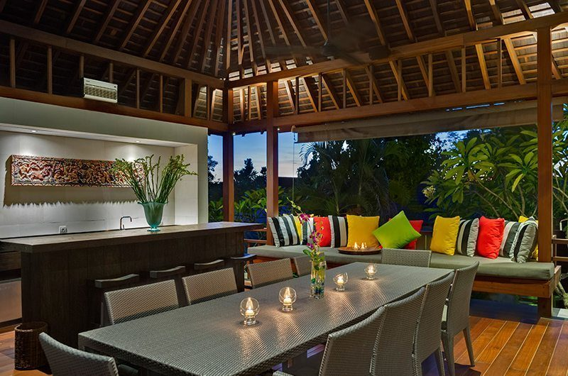 Villa Bendega Rato Up Stairs Dining | Canggu, Bali