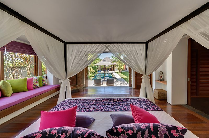 Villa Bendega Rato Master Bedroom with Pool View | Canggu, Bali
