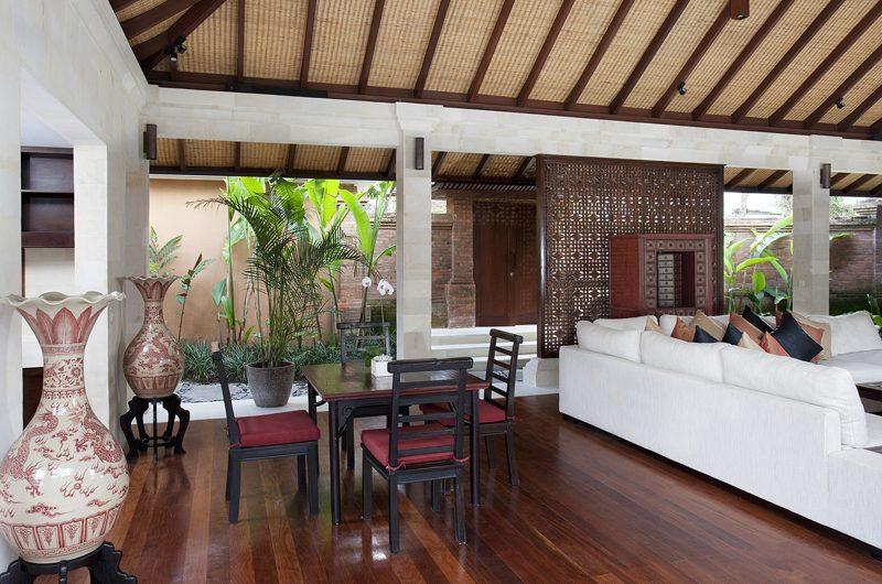Villa Iskandar Living and Dining Area | Seseh, Bali