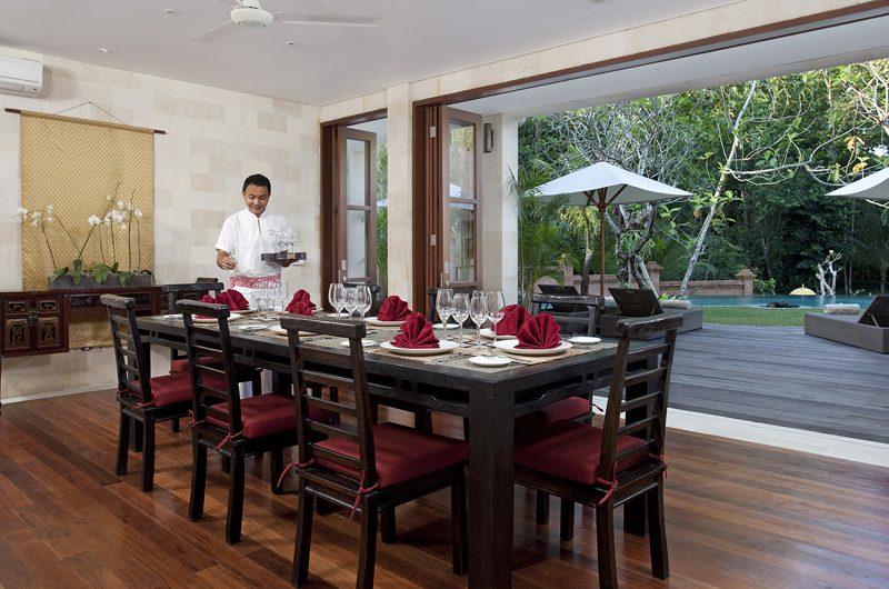 Villa Iskandar Dining Area | Seseh, Bali