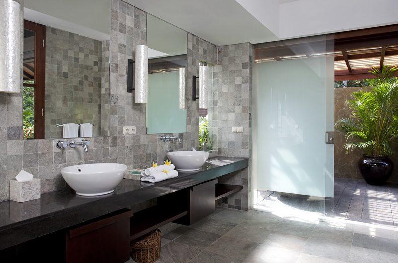 Villa Iskandar His and Hers Bathroom | Seseh, Bali