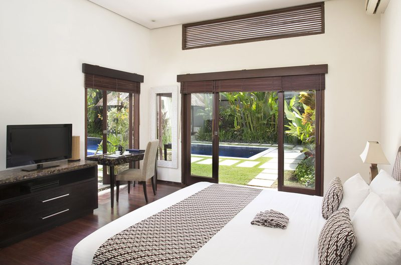 Villa Jemma Bedroom with TV | Seminyak, Bali