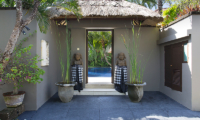 Villa Jemma Main Entrance | Seminyak, Bali
