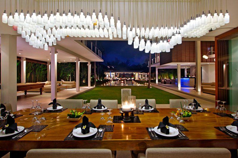 Villa Kalyani Dining Area   Canggu, Bali