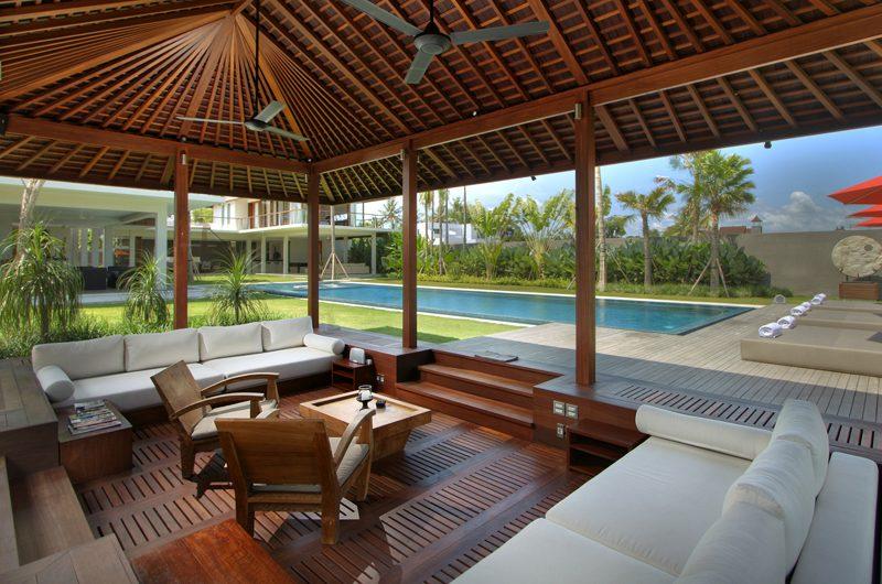 Villa Kalyani Open Plan Living Room   Canggu, Bali