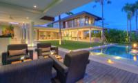 Villa Kalyani Pool Side Seating Area   Canggu, Bali