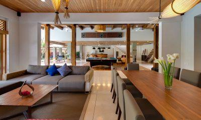 Villa Kinara Indoor Living and Dining Area | Seminyak, Bali