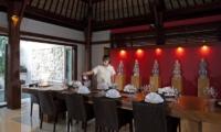 Villa Lilibel Dining Area   Seminyak, Bali