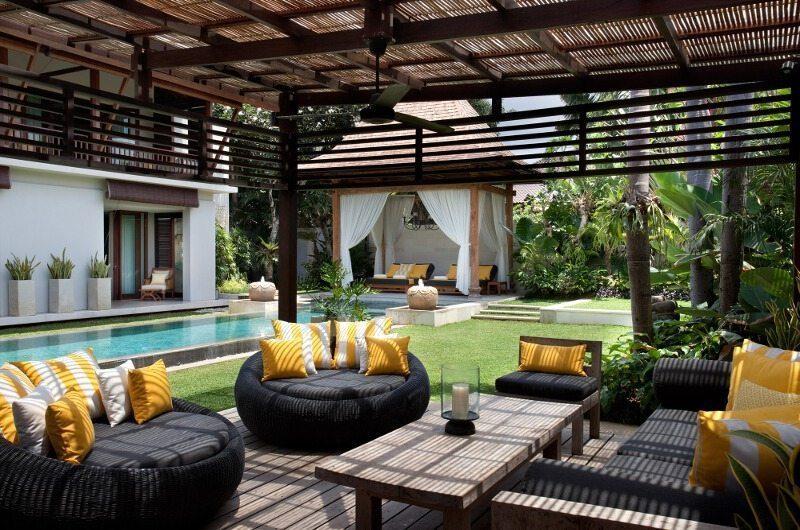 Villa Lilibel Outdoor Seating Area   Seminyak, Bali