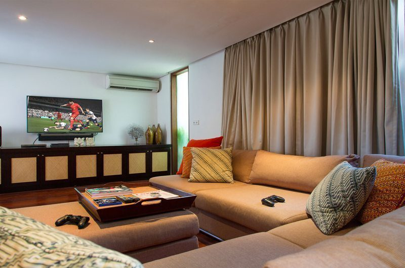 Villa Lilibel Media Room   Seminyak, Bali
