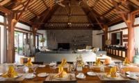 Villa Lilibel Dining Room   Seminyak, Bali