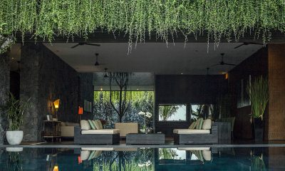 Villa Mana Pool Side Living Area | Canggu, Bali