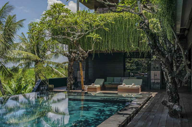 Villa Mana Pool Side Seating Area | Canggu, Bali