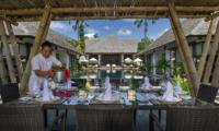 Villa Mandalay Pool Side Dining | Seseh, Bali