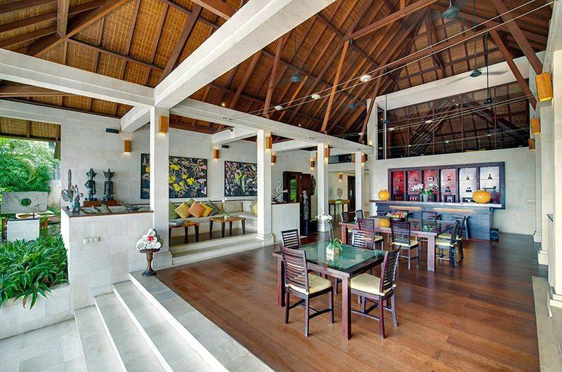 Villa Mandalay Living and Dining Area | Seseh, Bali