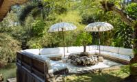 Villa Maya Retreat Outdoor Lounge   Tabanan, Bali