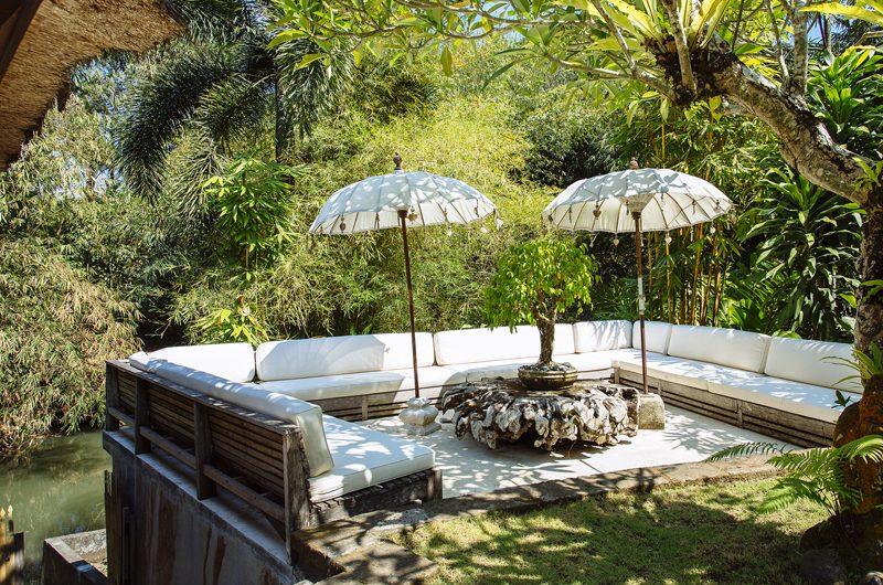 Villa Maya Retreat Outdoor Lounge | Tabanan, Bali