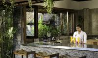 Villa Maya Retreat Bar Counter   Tabanan, Bali