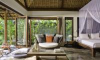 Villa Maya Retreat Bedroom with Seating Area   Tabanan, Bali