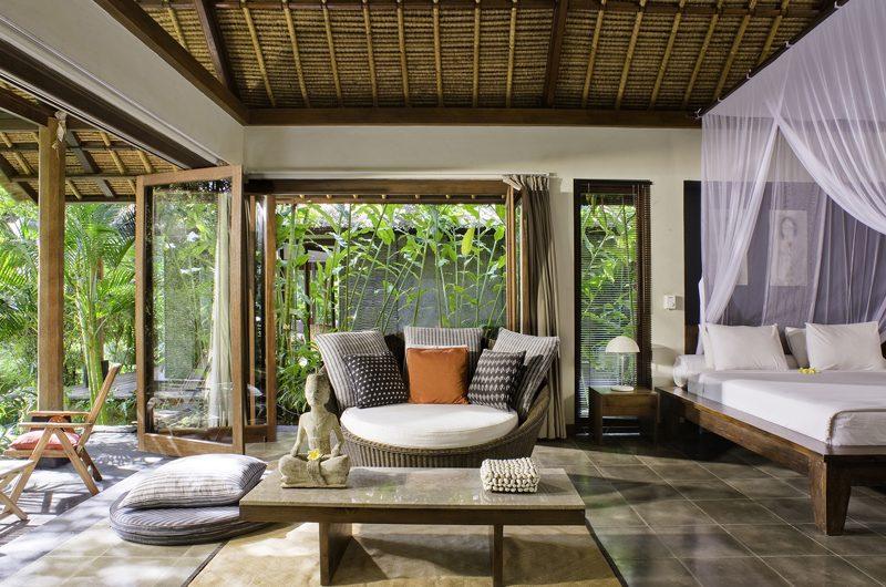 Villa Maya Retreat Bedroom with Seating Area | Tabanan, Bali