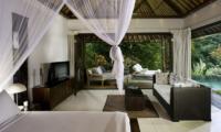 Villa Maya Retreat Bedroom with Pool View   Tabanan, Bali