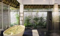 Villa Maya Retreat Romantic Bathtub Set Up | Tabanan, Bali