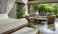 Villa Maya Retreat Bedroom with Sofa   Tabanan, Bali