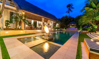 Villa Nalina Night View Pool | Seminyak, Bali
