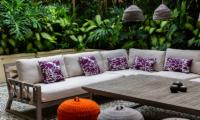 Villa Nalina Outdoor Seating | Seminyak, Bali