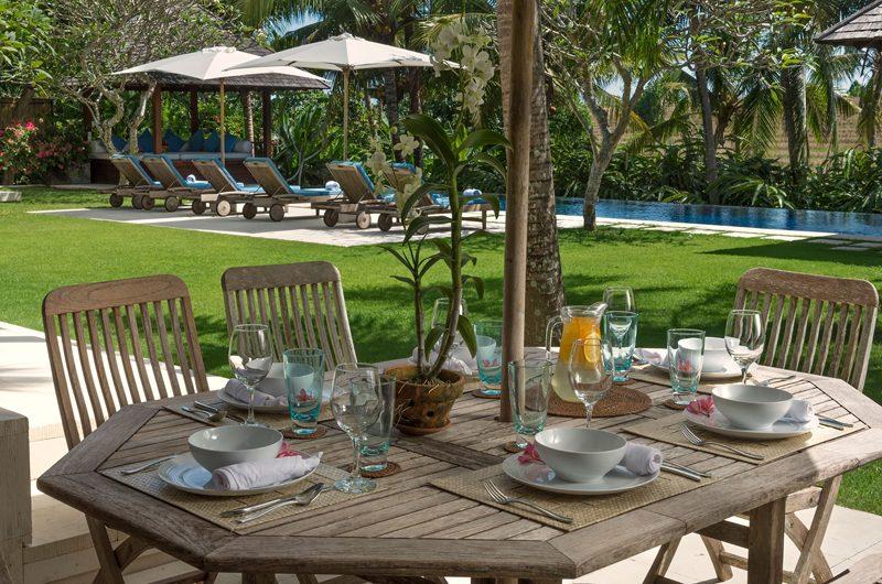Villa Sabana Outdoor Dining | Canggu, Bali