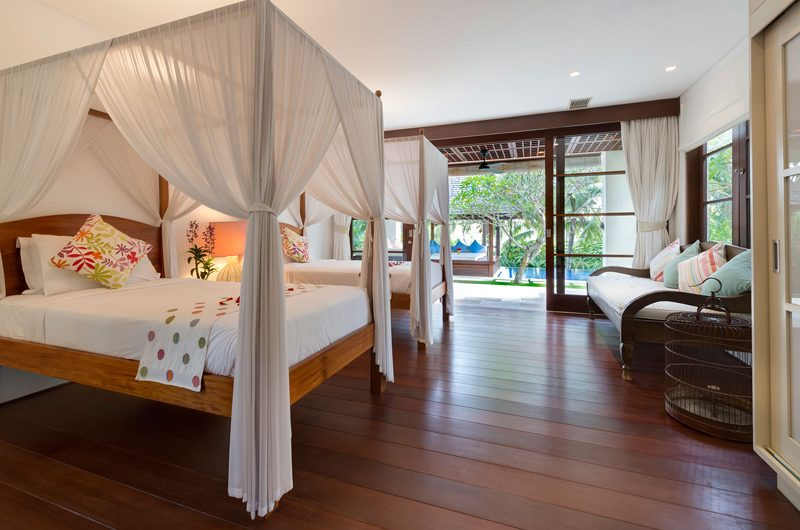 Villa Sabana Twin Bedroom with Pool View | Canggu, Bali