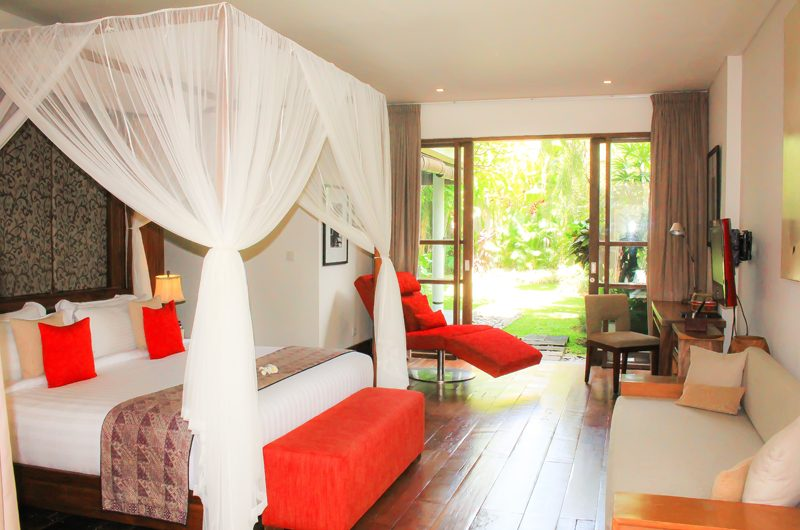 Villa Sally Bedroom with Garden View | Canggu, Bali