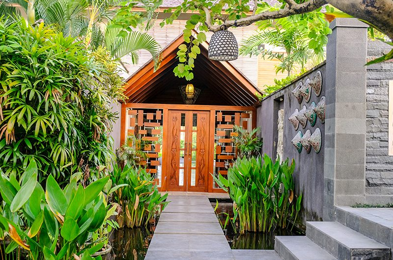 Villa Sally Entrance | Canggu, Bali