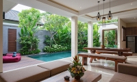 Villa Sally One Bedroom Luxury Villa Living Area | Canggu, Bali