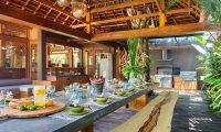 Villa Shambala Dining Table | Seminyak, Bali