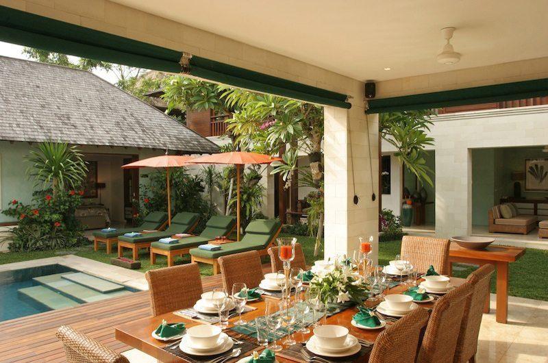 Villa Shinta Dewi Outdoor Dining | Seminyak, Bali