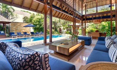 Windu Villas Villa Windu Sari Living Area with Pool View | Petitenget, Bali